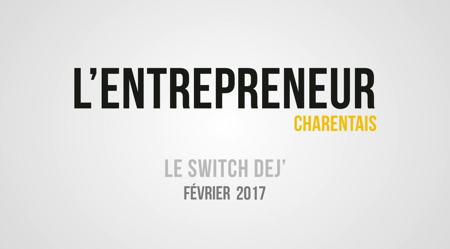 L'entrepreneur charentais privatise le restaurant « Le Little Comptoir » pour son Switch Déj'