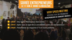 Le Very Speed Meeting – Edition 2015, le 17 Juin à Angoulême !